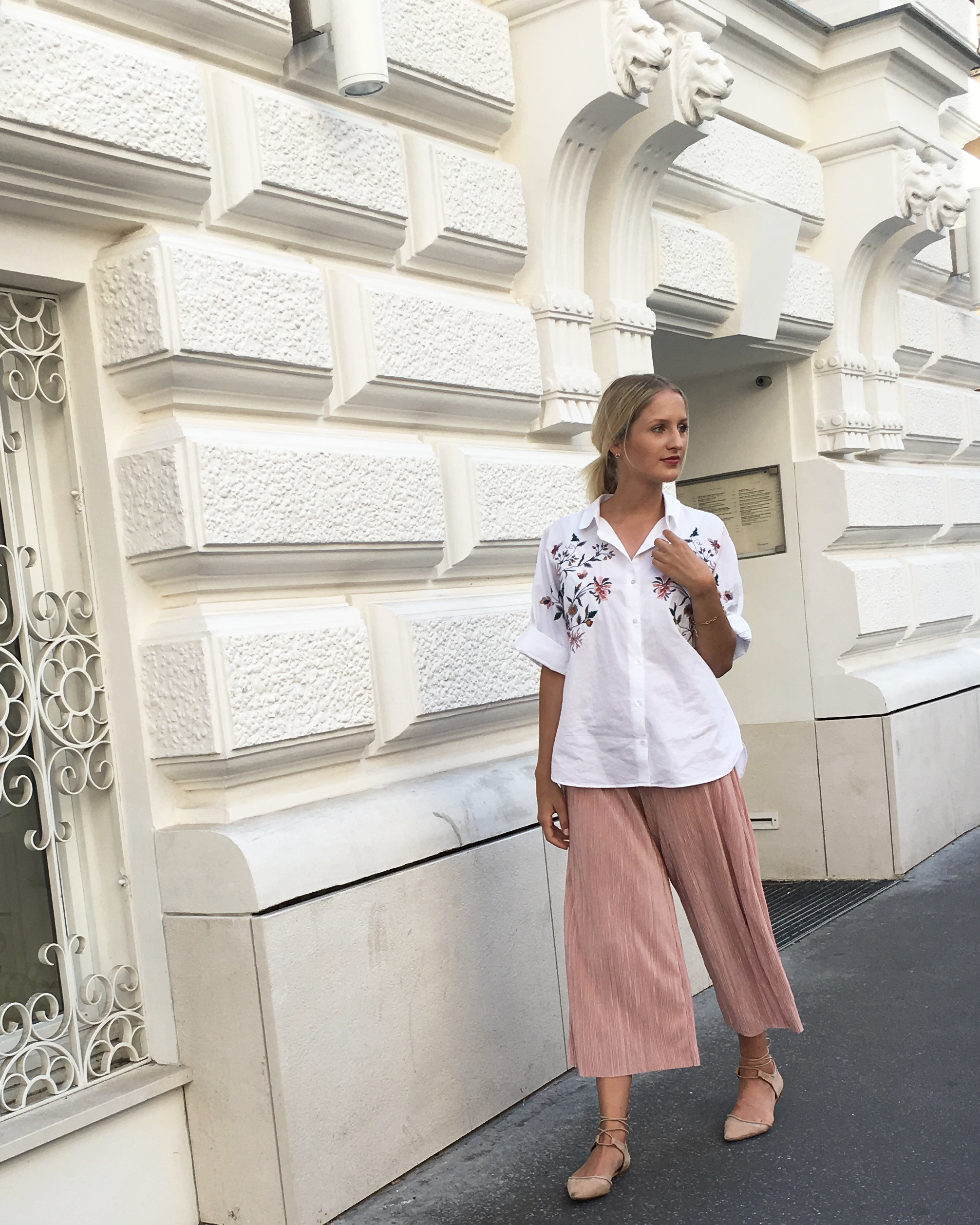louisatheresa outfit look pastel summer flowers